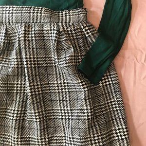 Plaid Candie's Skirt